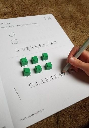 math u see primer worksheet