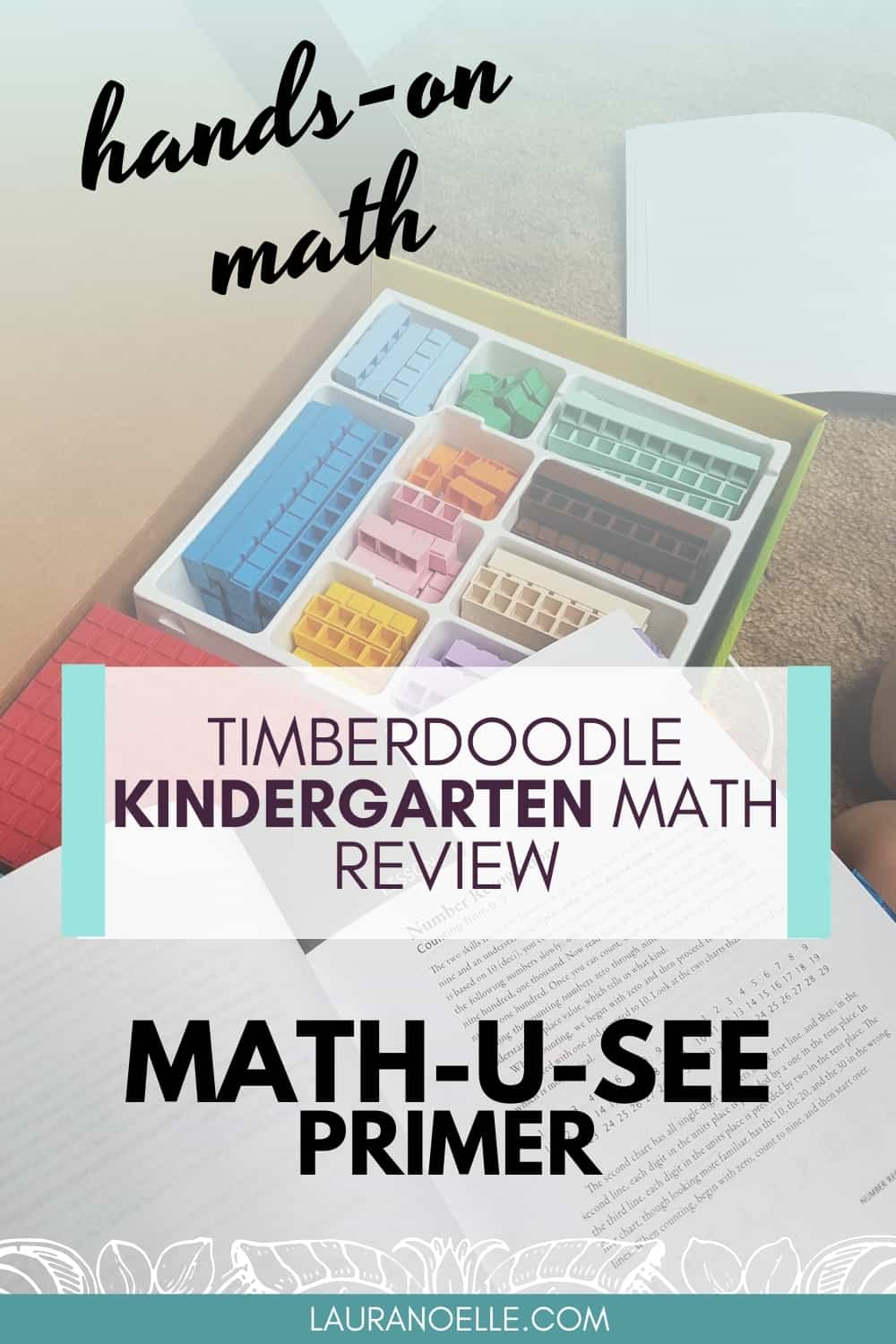 Numbers, counting, and addition...oh the joys of Kindergarten math! If math wasn't your favorite subject in school, teaching it can seem scary. Here's how Timberdoodle makes math simple!