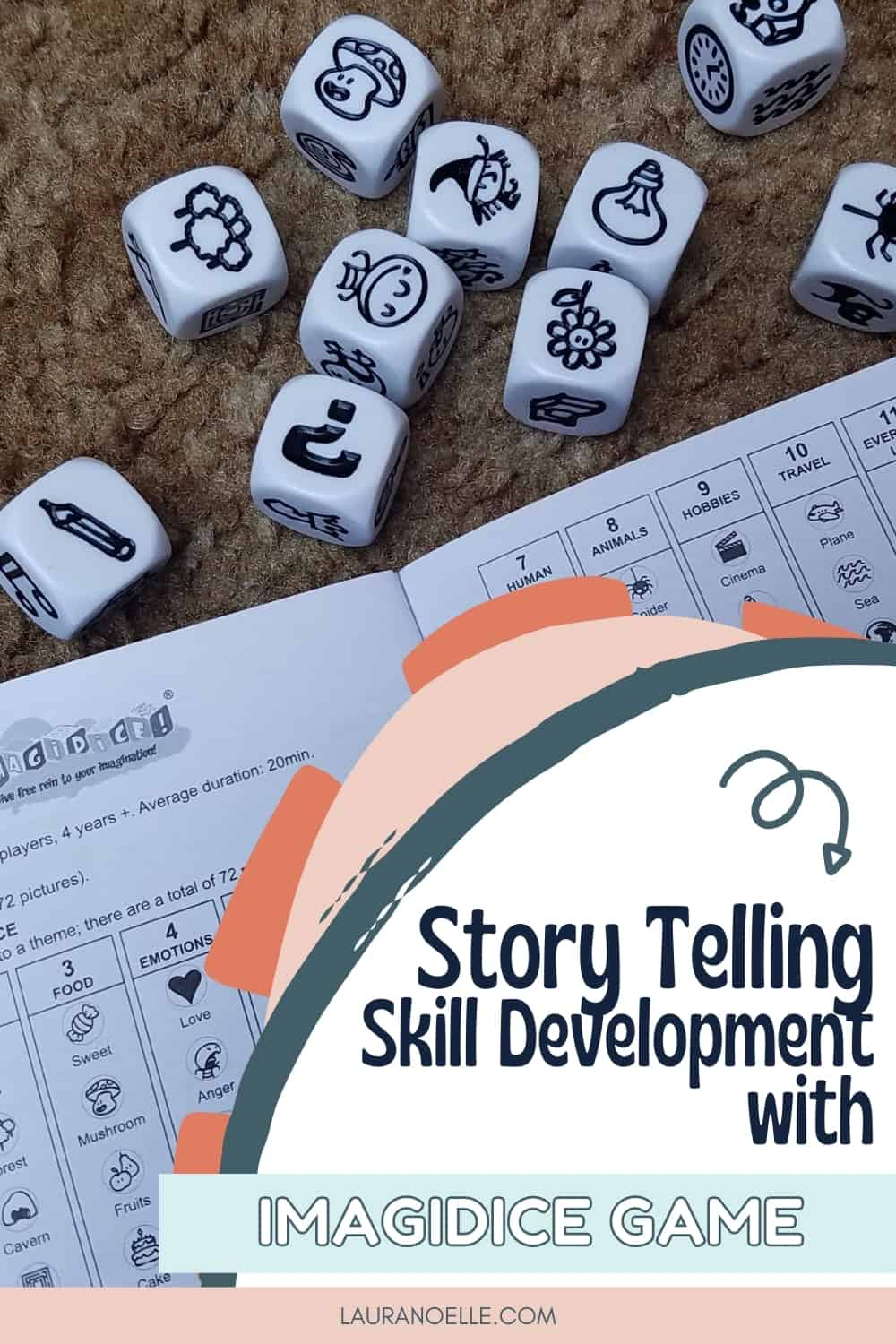 Building a confident writer starts young, before they even put pen to paper, with prewriting and storytelling skills. Now these skills can be built in a fun family game!
