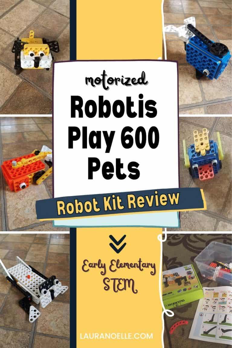 Building Robots for Kids || Robotis Play 600 Pets Review