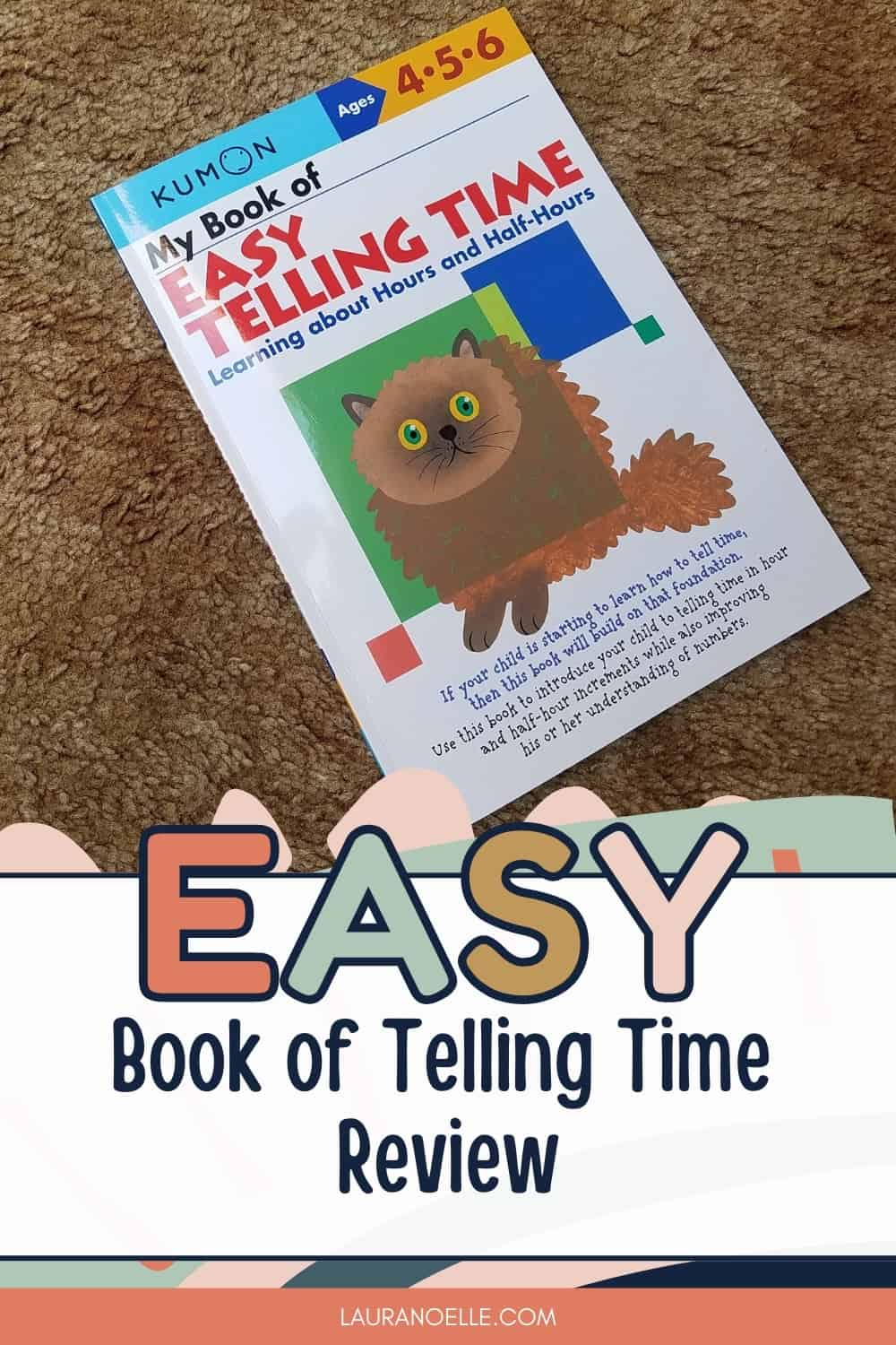 Learning to tell time is a vital skill in early childhood, but it doesn't always come naturally. Here's what we thought of Kumon's My Book of Easy Telling Time.