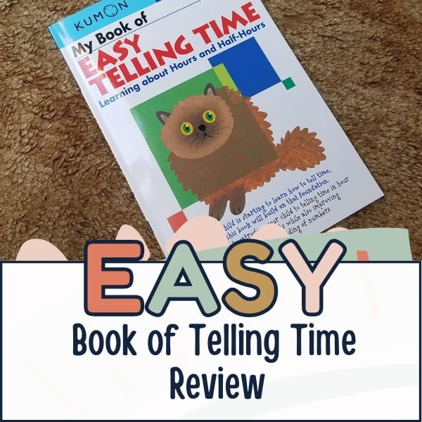 My Book of Easy Telling Time || Timberdoodle Review
