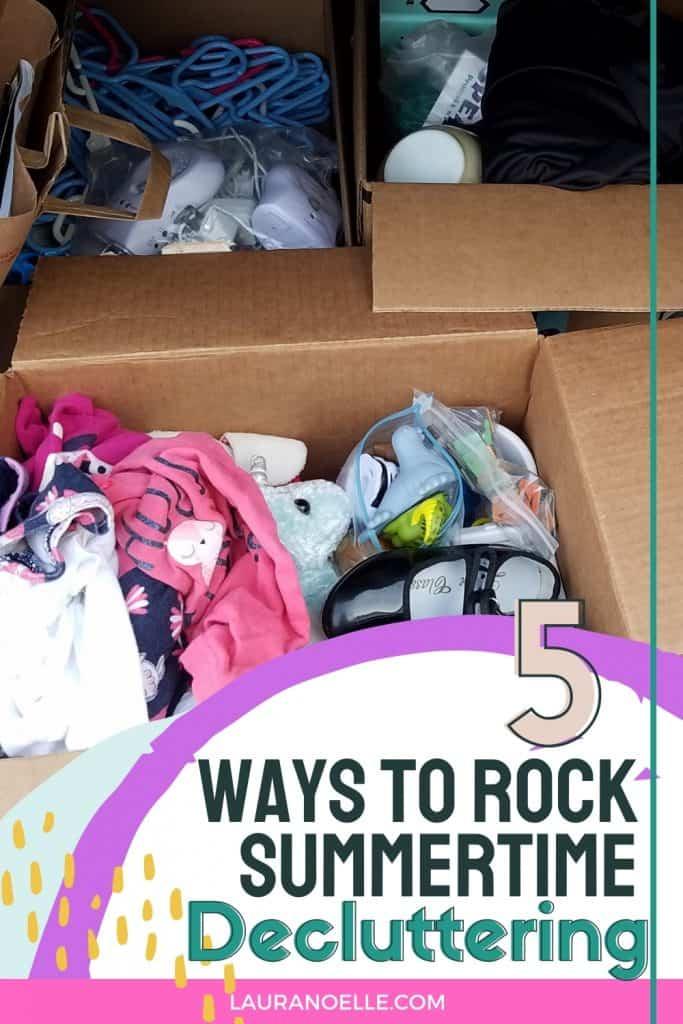 5 ways to declutter this summer
