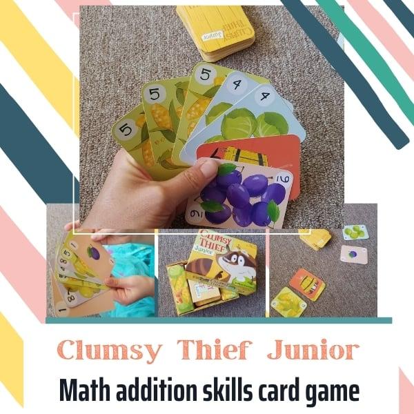 Making Math Fun || Clumsy Thief Junior Game Review