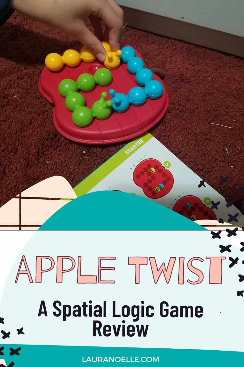 Children love thinking skills puzzles and Apple Twist is no different! Here's what we thought of this hands-on game board.