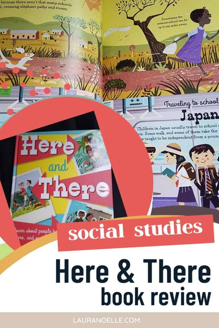 Here and There: learn about people here, there and everywhere || Social Studies Book Review
