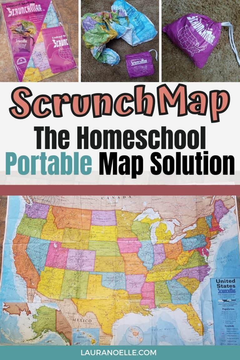 The Portable Homeschool Map Solution: ScrunchMaps
